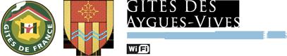Gîte des Aygues Vives, à Luzenac, Haute Ariège, Pyrénées Logo